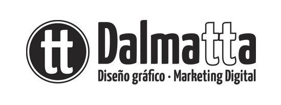 logotipo dalmatta estudio diseño y marketing online Sant Just Desvern