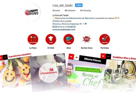 la ruta del tataki instagram
