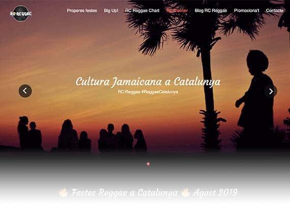 página web reggae catalunya