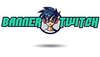 logo banner twitch disseny barcelona