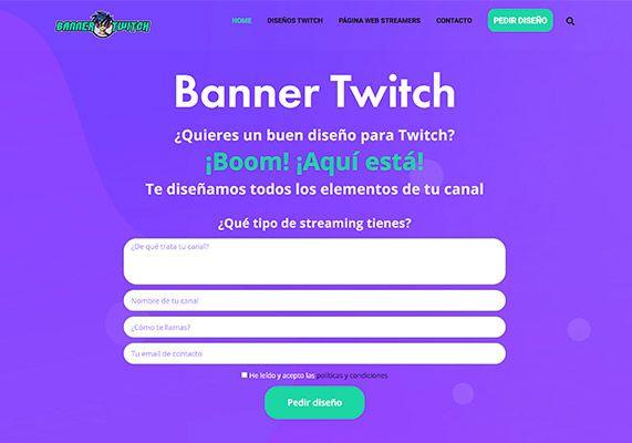 web twitch dissenys
